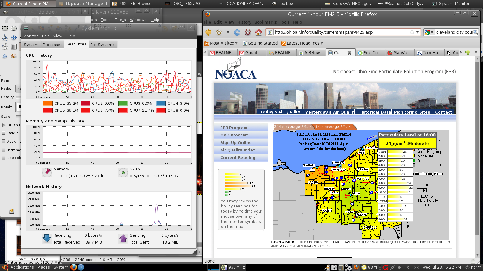 NOACA EPA Air Quality Monitoring for Canton, Ohio
