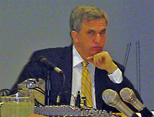 adam wasserman president cleveland cuyahoga port authority public meeting 2.23.09