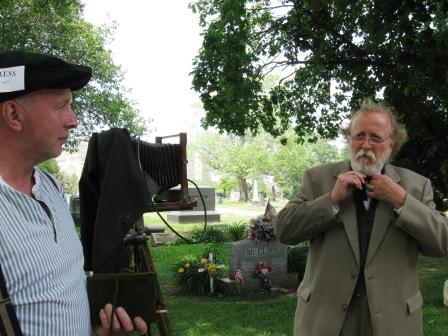 President Rutherford B. Hayes and photographer