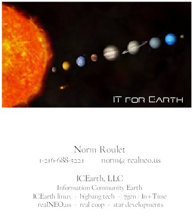 ICEarth Card