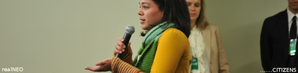 Citizen speaking at First White House Environmental Justice Forum 2010