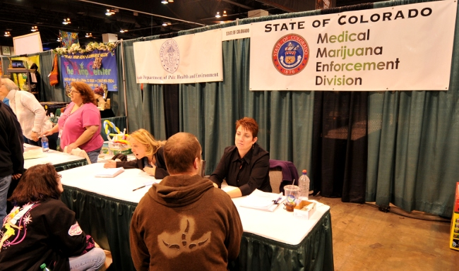 State of Colorado Medical Marijuana Enforcement Division at KushCon2