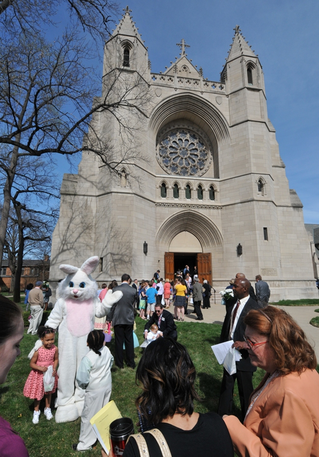 The Church of the Covenant, Cleveland, Ohio, Easter 2010