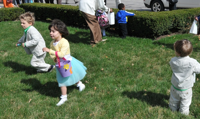 The Church of the Covenant, Cleveland, Ohio - Easter Egg Hunt 2010