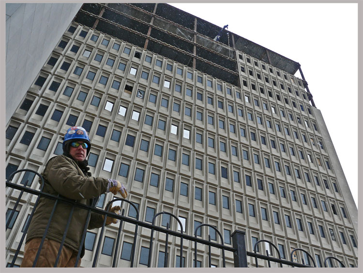 Buffalo Ny Saves Structural Skeleton Of Building Similar