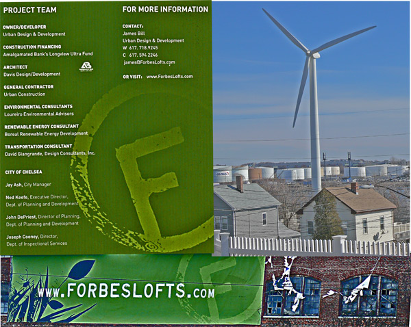 Belgian Turbowinds Nv 600kw wind turbine Chelsea mass Forbes lofts .com