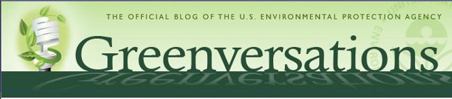 Header fo EPA Greenversations Blog