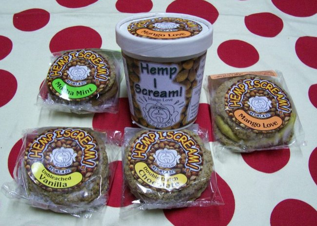 Hemp I Scream Product Line