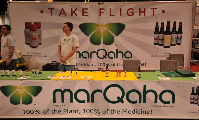 MarQaha booth at KushCon2