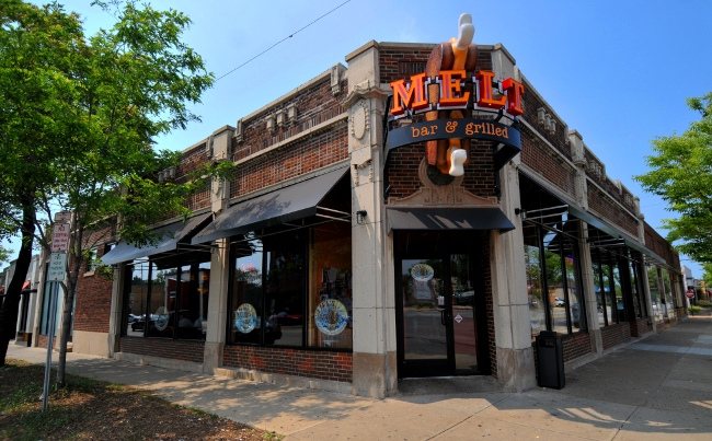 Melt Bar and Grilled Cleveland Heights Location - Taylor and Cedar Roads - Man vs. Food