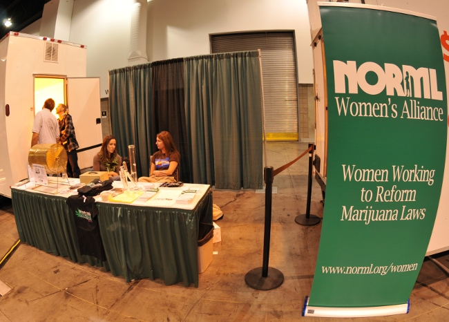 NORML Women's Alliance at KushCon2 in Denver Colorado 2010