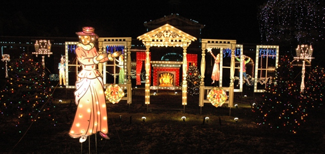 2009 Holiday Lighting Display At Ge Electrical