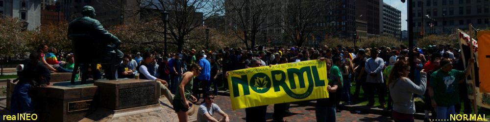 realNEO NORML Header featuring 2011 Cleveland Medical Marijuana March