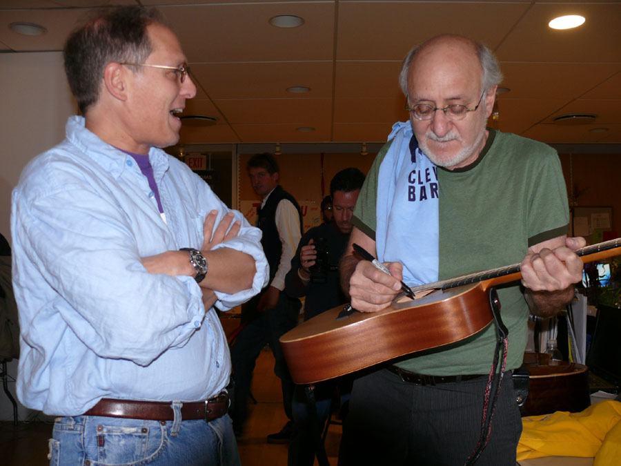 peter yarrow shaker square ricky guitar