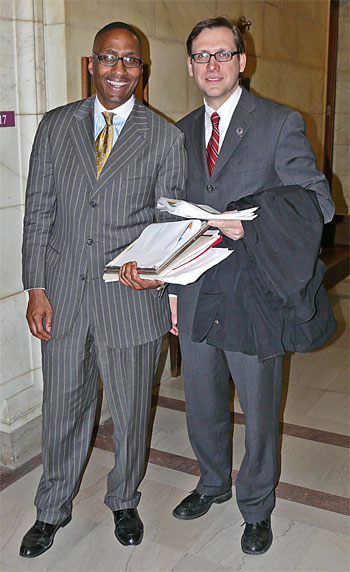 Zack Reed and Brian Cummins 3.23.09 Cleveland City Council redistricting