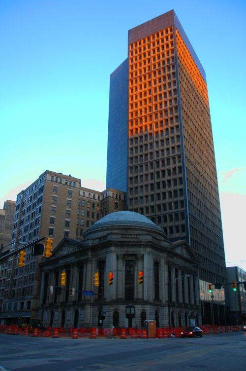 Cleveland Trust Post Rotunda and Breuer Tower