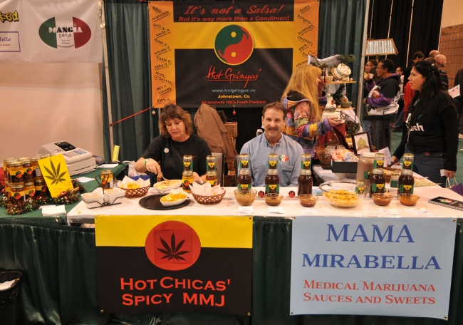 MMJ Food Products Companies at KushCon2