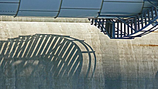 circular silo stair silhoet image jeff buster
