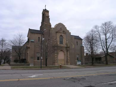 St. Andrews Church on Superior