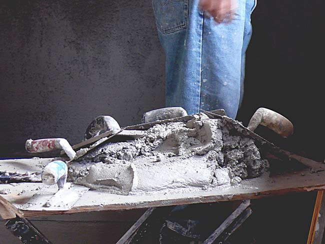 stucco tools trowel cement image jeff buster