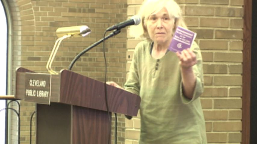 Vicky Knight, Women Speak Out For Peace and Justice, Testimony against MCCO Coal Burning Permit