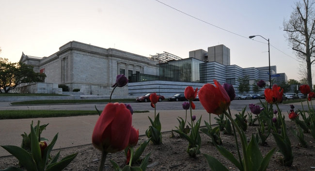 Cleveland Museum of Art Vinoli Addition taking shape