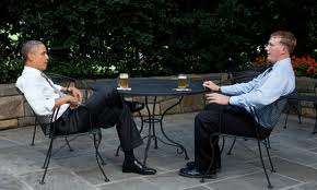 meyer having a beer with Obama from guardian.com