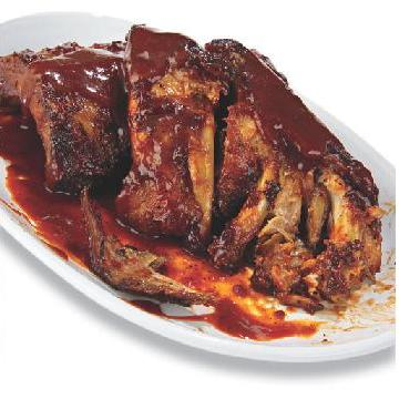 First nationally available entrée in America to pack more than 3,000 calories - Outback Ribs Full Slab