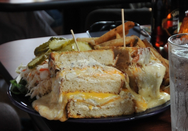 The Melt Challenge - Melt Bar and Grilled ultimate 13 cheese grilled sandwich