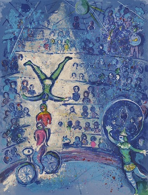 Lot 169. Marc Chagall (Russian/French, 1887-1985)  estimated $60,000/80,000