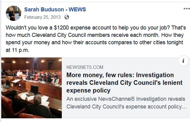 2013 Cleveland Council stories erased at Better Land WEWS