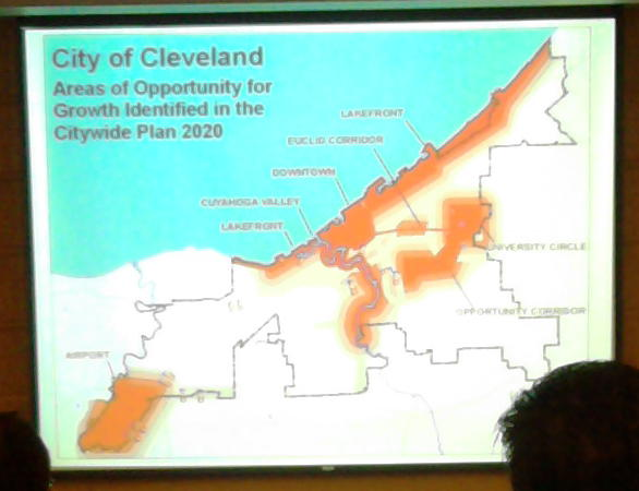 2020 Vision of Cleveland Designated Areas of Growth