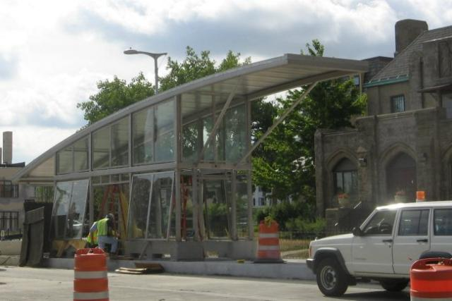 Progress on Euclid Avenue for RTA