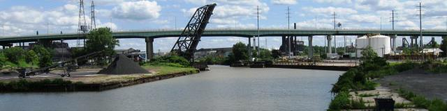 Cuyahoga River - near Jefferson W.3rd