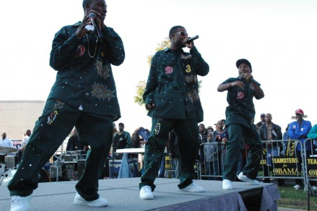 Deep 3 at The Russell Simmons Super Jam Get Out The Vote Rally 2