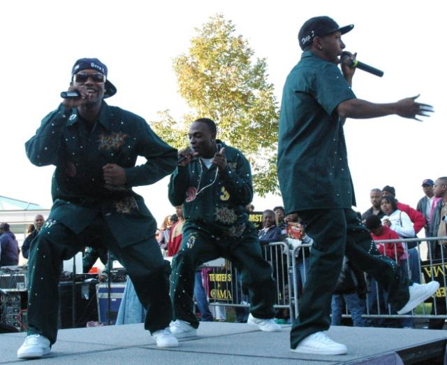 Deep 3 at The Russell Simmons Super Jam Get Out The Vote Rally 3