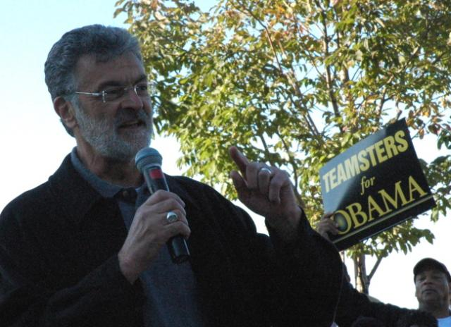 Cleveland Mayor Jackson at Russell Simmons Rally