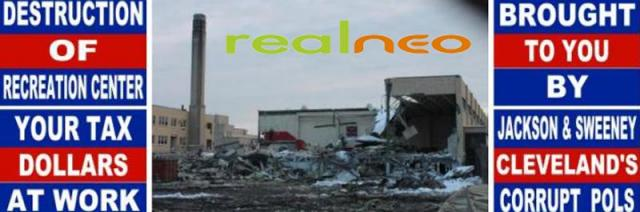 Marshall High School rec demolition image by Satinder Puri  as Realneo Banner