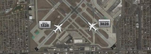 Midway airport near collision predicable confusion