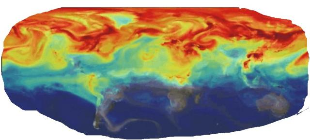 NASA  active Global Modeling of CO2