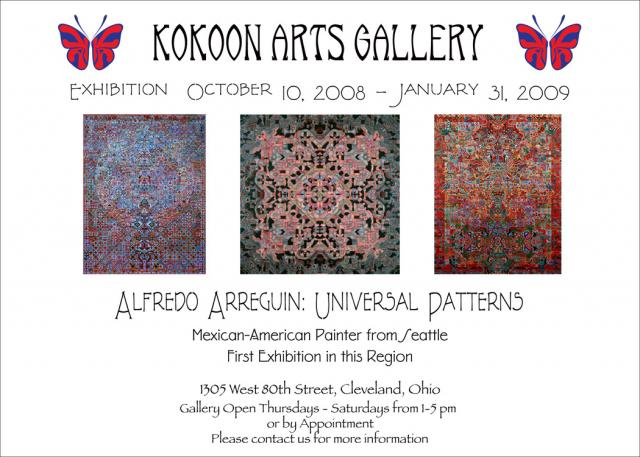 Alfredo Arreguin: Universal Patterns