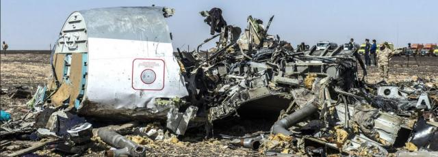 Where's the tail?  Russian jet down in the Sinai
