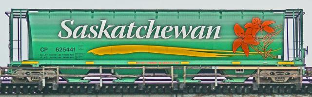Seeking Name Recognition - Saskatchewan grain rail car