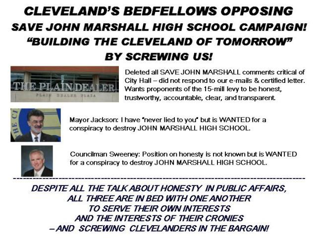 CLEVELAND'S BEDFELLOWS!