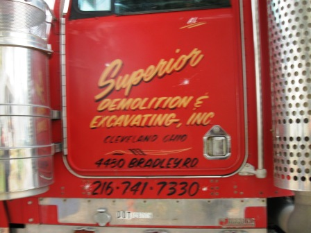 SUPERIOR DEMOLITION AND EXCAVATING....Another Baumann Enterprise cancelled in 2007