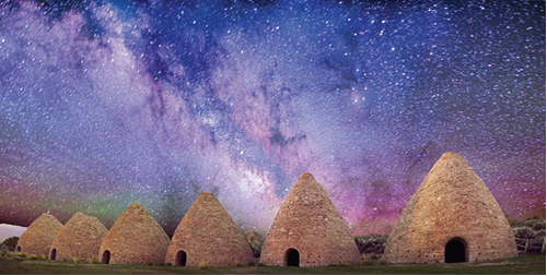 Ward Charcoal ovens image by Thomas McEwan in Nevada with stars