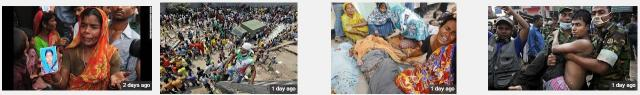 Bangladesh building collapse banner