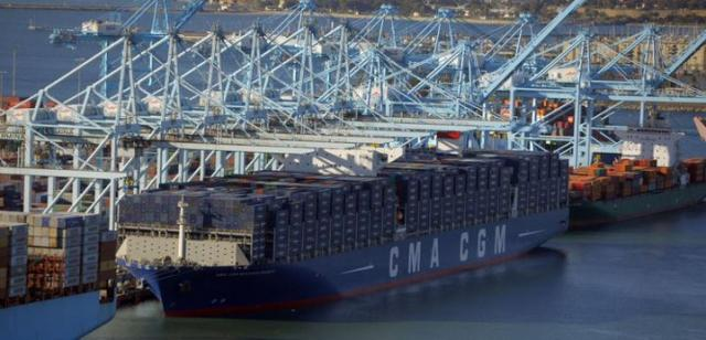 "container ships importing ""consumer goods"" -Trojan horse?"