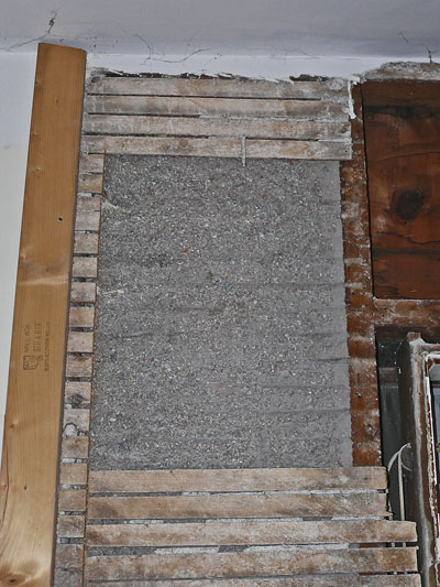 lath and plaster wall. blown-in-cellulose-in-lathe.jpg lath and plaster wall a