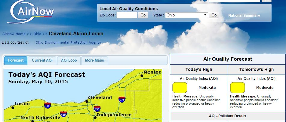 Coal fumes and particles in your lungs today